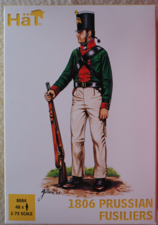 HaT 1/72 HAT8084 Prussian Fusiliers 1806 (Napoleonic)